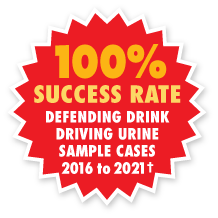 100 percent drink driving urine 2016