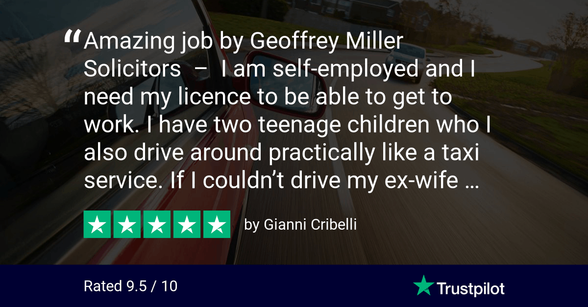 Geoffrey Miller Solicitors Trustpilot Review