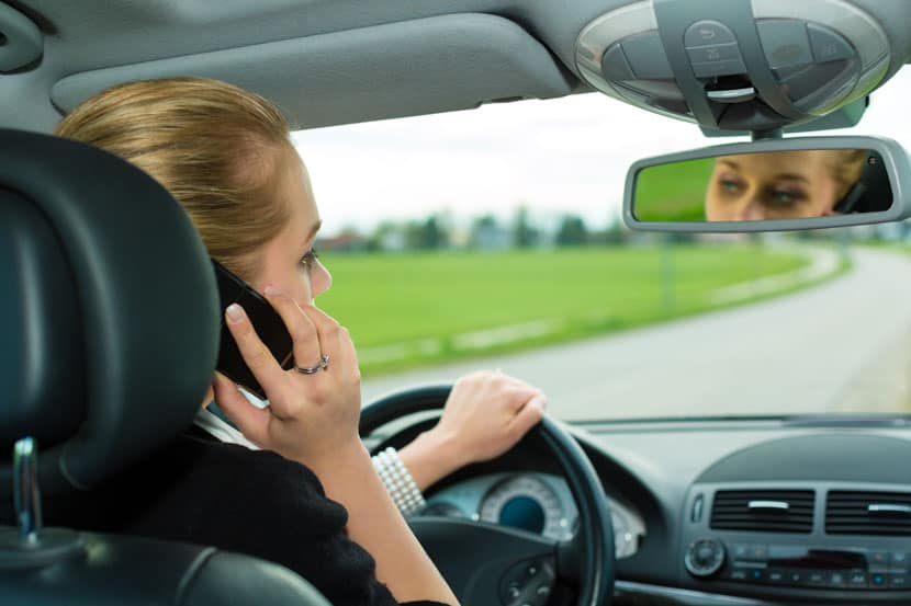 mobile phone driving offence
